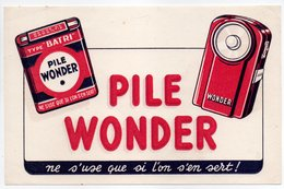 - BUVARD PILE WONDER - - Piles