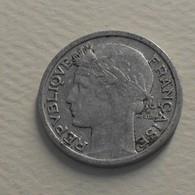 1945 - France - 50 CENTIMES, Morlon, Aluminium, KM 894.1a, Gad 426a - France