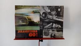 Ancienne Coupure De Presse Automobile Dragsters Go ! - Voitures (Courses)