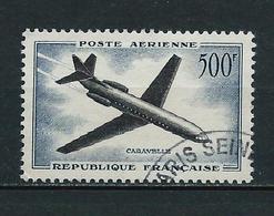 FRANCE 1955/59 . Poste Aérienne N° 36 . Oblitéré . - Airmail