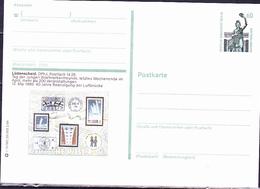 Berlin - Bildpostkarte Lüdenscheid (MiNr: P 128 - Druckvermerk: T 12/82 20.000 2.89) 1989 - Postfrisch - [5] Berlin