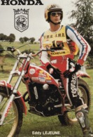 Honda, Eddy Lejeune World Trial Champion 1982 1983 - Sport Moto