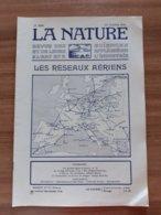 Revue La Nature N° Special Aviation Avion Voir Sommaire Les Reseaux Aeriens 22 Octobre 1921 - 1900 - 1949
