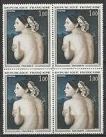 France 1967 N° 1530 NMH Tableaux Ingrès Bloc De Quatre (G13) - Nuovi