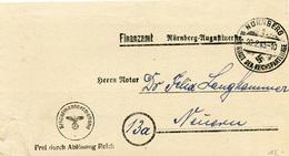 (Lo4207) Brief DR Dienst St. Nürnberg N. Neuern - Germany