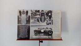 Ancienne Coupure De Presse Automobile De 1970 Essai De La Chevron Formule III - Voitures (Courses)