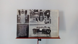 Ancienne Coupure De Presse Automobile De 1970 Essai De La Chevron Formule III - Other