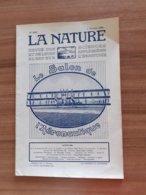 Revue La Nature N° Special Aviation Avion Voir Sommaire Salon De L'aéronautique 7 Fevrier 1920 - Livres, BD, Revues