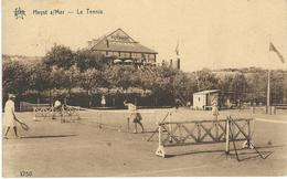 HEYST S/MER : Le Tennis - RARE VARIANTE - Cachet De La Poste 1930 - Heist