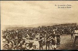 Carte Illustrée Neuve N° 19.  Vue 20 : Le Marché à Bunia - Entiers Postaux