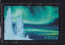 Norway 2001, Aurora Borealis, Minr 1413, Vfu - Usati