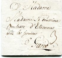 Belgique Precurseur Griffa MALINES-Gand 1770 Taxé 3 Type21 Herlant 11 Avec Texte - 1714-1794 (Pays-Bas Autrichiens)