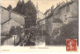 Carte  POSTALE  Ancienne De BACCARAT - Canal Du Moulin - Baccarat