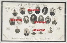 Oorlog Guerre Gesneuvelde Soldaten Van Sint Denijs Westrem 1914 1918 Afsnee Soldaat Gesneuveld - Images Religieuses