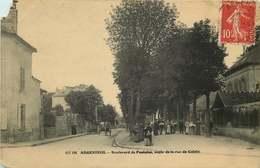 VAL D'OISE  ARGENTEUIL  Boulevard De Pontoise Angle De La Rue De Calais (manqanglsup Ghe) - Argenteuil