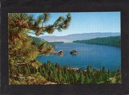 Lac Tahoe  Grand Lac D'eau Douce Niché Dans Les Montagnes De La Sierra Nevada Et Bordant La Californie Et Le Nevada - Etats-Unis