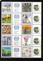 O N U    GENEVE 2010   NEUFs CH.    N° 734 à 743   N**     Contre Le Travail Des Enfants. Valeur Faciale : 19,00 CHF - Neufs