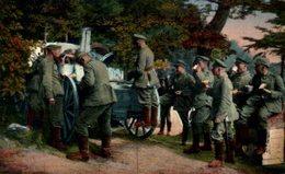 Kriegsbilder Aus Den Vogesen. Beim Morgenkaffee 1914/15 WWI WWICOLLECTION - War 1914-18