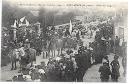 53 QUELAINES - Fête Jeanne D'Arc 1909 - Défilé Des Seigneurs - Altri Comuni