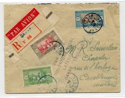 """!!! VOL D'INAUGURATION DAKAR - CASABLANCA DU 4/6/1925 GRIFFE """"PAR AVION, OUVERTURE LIGNE LATECOERE DAKAR TOULOUSE - Sénégal (1887-1944)"""