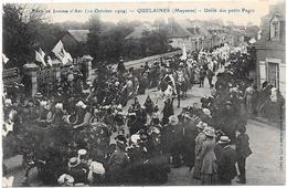 53 QUELAINES - Fête Jeanne D'Arc 1909 - Défilé Des Petits Pages - Altri Comuni