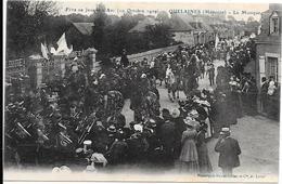 53 QUELAINES - Fête Jeanne D'Arc 1909 - La Musique - Altri Comuni