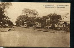 Carte Illustrée Neuve N° 19.  Vue 3 : Elisabethville. -- Avenue De Tabora. - Entiers Postaux