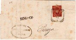 FRANCOBOLLO 1899 PIENZA - 1878-00 Umberto I