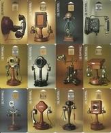 Lot - Phonecards - Collection Historique - Série Complète De 23 Télécartes - Téléphones - Téléphones