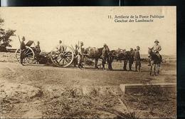 Carte Illustrée Neuve N° 20. Vue 11 : Artillerie De La Force Publique. - Entiers Postaux