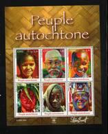 O N U    GENEVE 2010   NEUFs CH.    N° 744 à 749   N**  Peuples Autochtones  Valeur Faciale : 7,80 CHF - Neufs