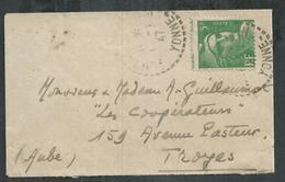 Mariannede Gandon No 809 ; 5F Vert Clair; Petit Piquage à Cheval - Variétés Et Curiosités