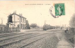 Saint-Sauveur-Lendelin - La Gare - Frankrijk