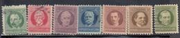 Cuba, Scott #304-307B, Used, Famous Men, Issued 1930-45 - Cuba