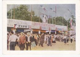 Cpa- Politique-parti Communiste- Fete De L'humanité A Vincennes En 1955-stand De L'P.U.I. - Eventos