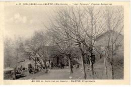 """Collonges-sous-Salève - """"Aux Polonais"""" Pension-Restaurant - Alt. 800m., Belle Vue Sur Genève - Martin Propriétaire - Autres Communes"""
