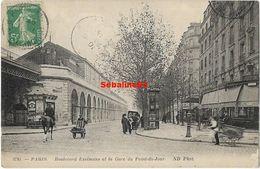 Paris - Boulevard Exelmans Et La Gare Du Point-du-Jour - Distretto: 16