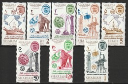 SHARJAH - N°185/92 ** (1965) U.I.T - Sharjah