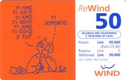 Ricarica Telefonica Wind Euro 50 - Italie