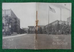 Brochure En Langue Anglaise - Année 1921 - The Home Of The Eastman Kodak - Photography