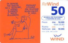 Ricarica Telefonica Wind Euro 50 - [2] Tarjetas Móviles, Prepagadas & Recargos