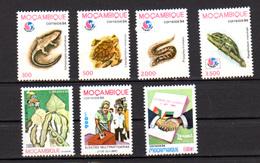 Mozambique 1994, «Philakoréa'1994», Reptiles Entre 1270 Et 1284**, Cote 14 € - Serpents