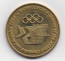 Medaille   J O  Los Angeles  Escrime 19844 - USA