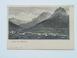 Monzoni 10050 Trentino Pozza Di Fassa 1905 Ed A.Mayer - Italie