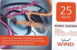 Ricarica Telefonica Wind Euro 25 - [2] Tarjetas Móviles, Prepagadas & Recargos
