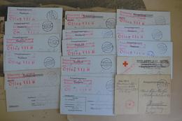Soldat Officier Armée Militaire Belge Courrier Cachet Censure Oflag VII Vers Hasselt - Documents