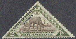 """MOZAMBIQUE COMPANY (1937) Antilope. Épreuve En Vert Et Brun Surchargée """"Waterlow & Sons, Ltd SPECIMEN"""" - Mosambik"""