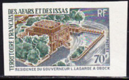 AFARS & ISSAS (1969) Governor's Residence. Imperforate. Scott No 331, Yvert No 349. - Otros