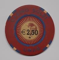 TOKEN JETON CROATIA CASINO SOLEI UMAG 2,5 EUR - Casino