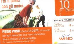 Ricarica Telefonica Wind Euro 10 - Italie